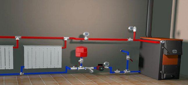 Отопление в частном доме своими руками из полипропилена диаметр труб